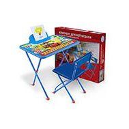 К-т Disney - Тачки (стол 520+пен+стул мягкий) Д1П/Т,  4016, фото 1