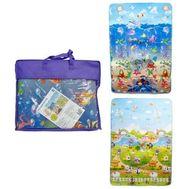 1toy коврик игровой для малышей EPE малый 1.2M*1.8M*0.5CM в сумке, двустор, рис: море и животные,  Т, фото 1