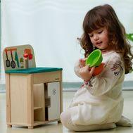 Игровой набор. Кухня с холодильником, PLAN TOYS 3606, фото 1