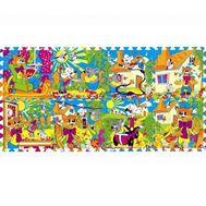 Коврик-пазл Играем Вместе Кот Леопольд 8 сегментов, Играем Вместе 160952/FS-LEO-01, фото 1