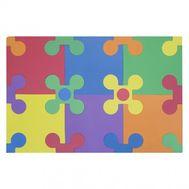 Коврик-пазл FunKids Цветы-12 NT, FunKids km_KB-049-30FL-NT, фото 1