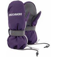 Детские варежки Didriksons BIGGLES ZIP, фиолетовый, 501946, фото 1