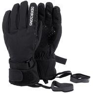 Перчатки подростковые Didriksons FIVE, черный, 501967, фото 1