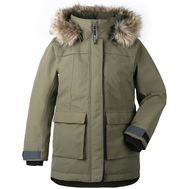 Куртка для девушки Didriksons HEIJKENSKJOLD, серо-зеленый, 501901, фото 1