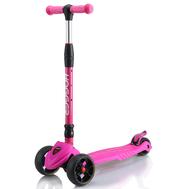 Самокат HOGGER BIGFOOT, детский, светящиеся колеса, розовый, 2019, фото 1