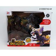 Динозавр на батарейках в коробке,  825A, фото 1